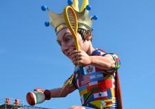CARNAVAL DE NICE - LE ROI DU SPORT - 26-02-2012
