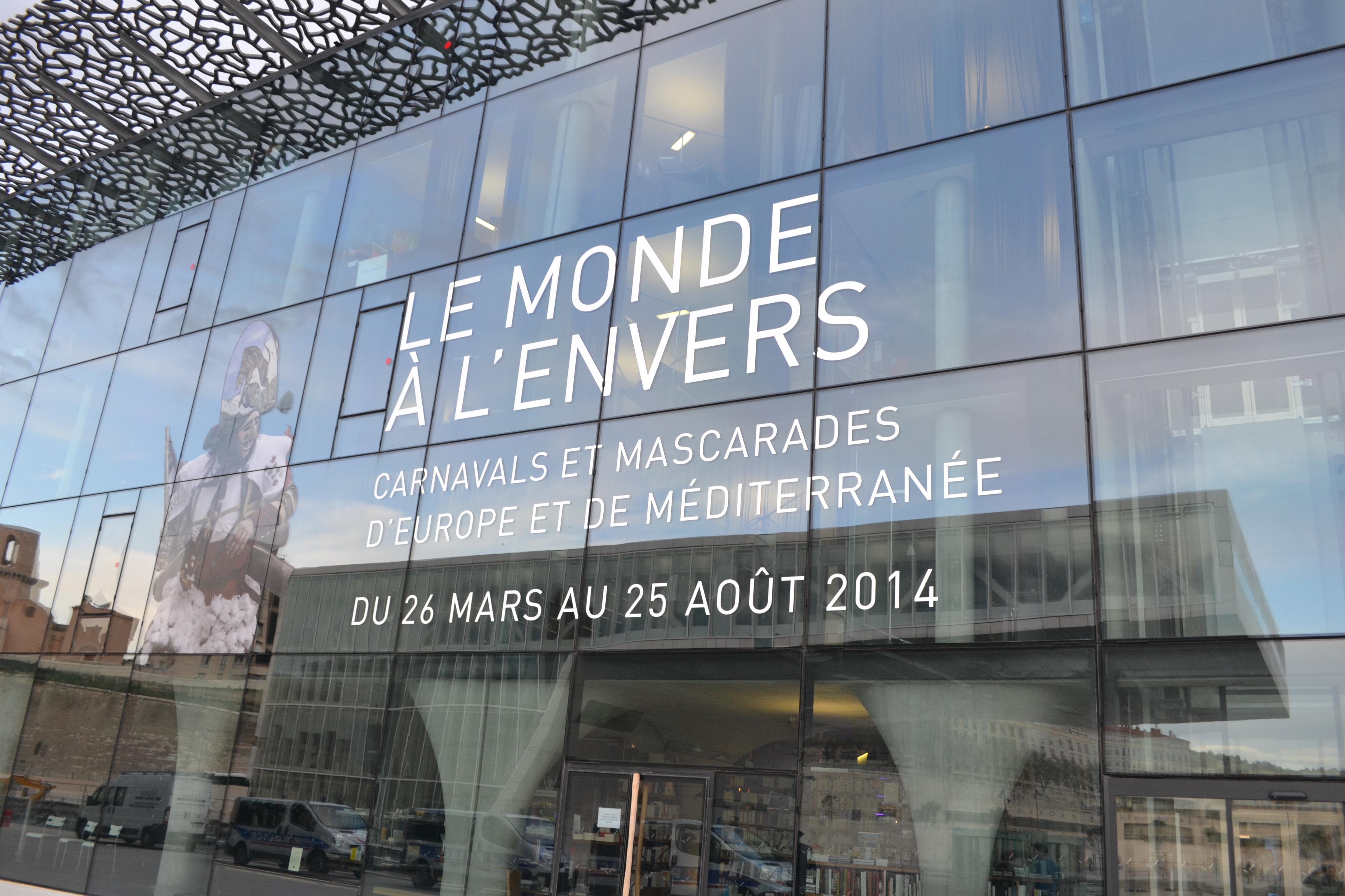 MARSEILLE - MUCEM - LE-MONDE A L'ENVERS 2013